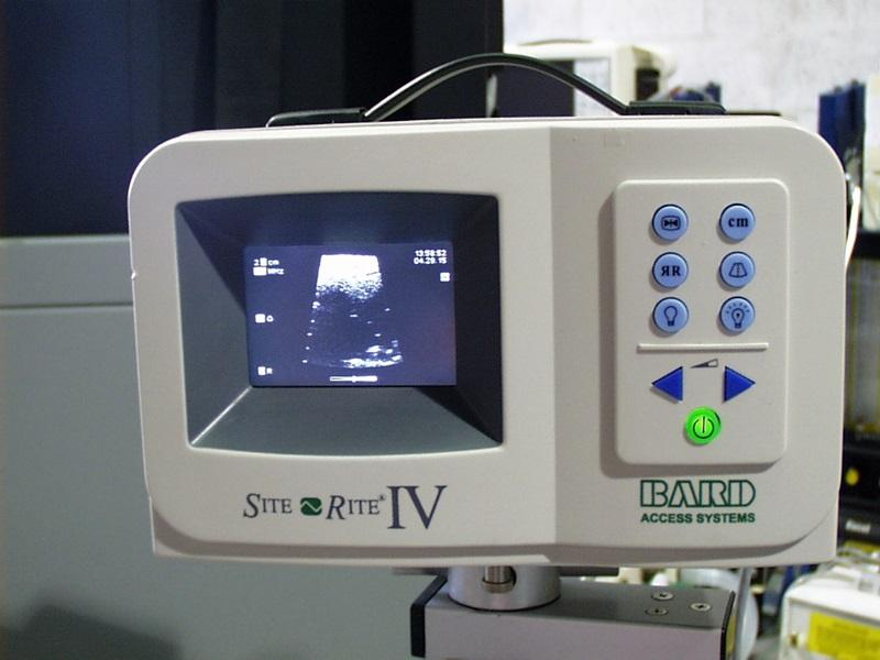 Bard SiteRite IV Ultrasound vascular