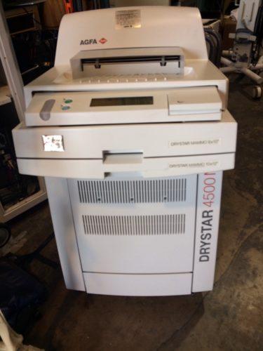AGFA DRYSTAR 4500M Mammo Digital Imager