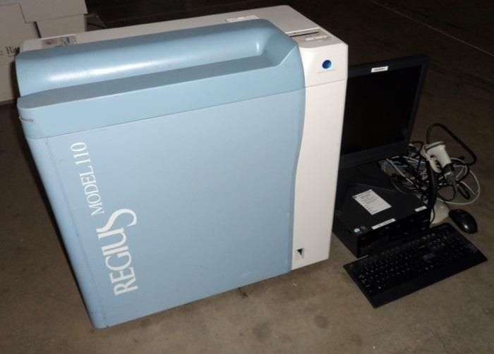 Konica Minolta Regius 110 CR System with Workstation